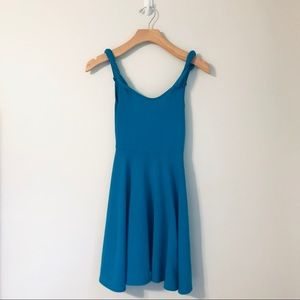 silence + noise Blue Dress